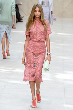 Cara Burberry  Spring Summer 2014