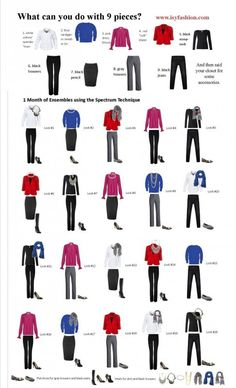 9 capsule work wardrobe options to get ideas - Page 2 of 9 - women-outfits.com