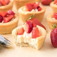 You will absolutely LOVE these strawberries and cream cookie cups made with my signature cream made with my beloved condensed milk.