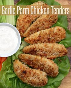 Garlic Parmesan Chicken Tenders