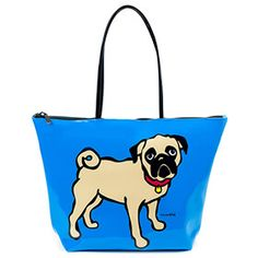 Marc Tetro Pug Tote Bag: Item number: 3574009151 Currency: GBP Price: GBP34.95