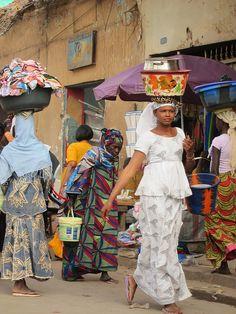 Market scene Bamako