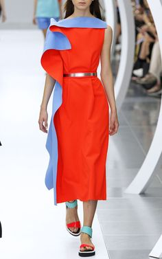 Roksanda Haseley dress and Coral leather belt