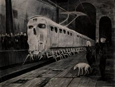 """There Is A Subway Lower Than Hell…"": The Superb Dark And Sinister Artworks By Vergvoktre #art"