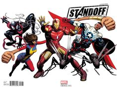 Avengers Standoff: Assault on Pleasant Hill Omega # 1 (Variant) by Mike Deodato Jr.