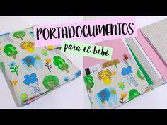 Portadocumentos para el bebe ( Patrón incluído ) + sorteo - YouTube