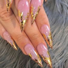 21 cool and trendy stiletto nail art designs 21 coole und trendige Stiletto Nail Art Designs Pink Acrylic Nail Designs, Pink Acrylic Nails, Stiletto Nail Art, Pink Acrylics, Nail Art Designs, Nail Pink, Perfect Nails, Gorgeous Nails, Trendy Nails