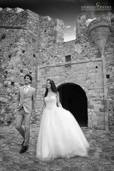 NEXT DAY WEDDING PHOTOGRAPHY IN MONEMVASIA...Romantic Vintage Black and White Wedding!Castle of Monemvasia!A Lovely Place!!!