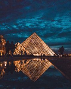 Experience the Louvre by night, 1st arrondissement, Paris, France