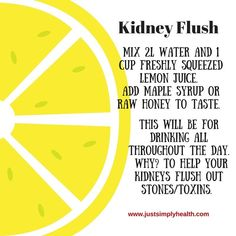 Kidney Cleanse Detox Best way to get rid of Kidney Flush? JSH has this to say. Colon Cleanse Detox, Detox Your Liver, Cleanse Diet, Diet Detox, Cleanse Recipes, Juice Cleanse, Health Cleanse, Juice Recipes, Stomach Cleanse