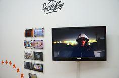 """Fluor en la Exposición """"Por todas partes. Graffiti y tipografía"""" Galería Swinton And Grant. Madrid. #typomad2014 #Madrid. #streetart #arteurbano #galerias #Fluor  https://twitter.com/arterecord"""
