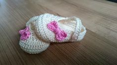 Avontuur met een haaknaald..Gehaakte knuffels en nog meer!: GRATIS haakpatroon baby ballerina schoentjes 0-3 m...