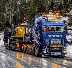 Show Trucks, Big Rig Trucks, Master Truck, Camper Boat, Customised Trucks, Benne, Big Tractors, Truck Art, Volvo Trucks