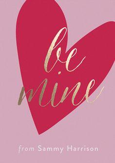 'Be Mine.  #PANDORAvalentinescontest