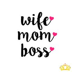 Personalize the look of your water bottle, yeti cup, laptop, and more with a custom Wife. Mom. Boss. decal! You choose the size and colors. CHECKOUT INSTRUCTIONS- -Please select size in the drop-down menu. -You will not be prompted to enter the colors -Please enter the customization