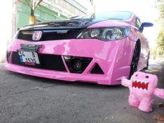 Pink Honda :P