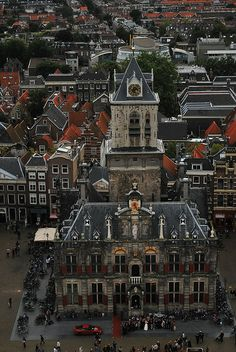 Wedding at City Hall, Delft