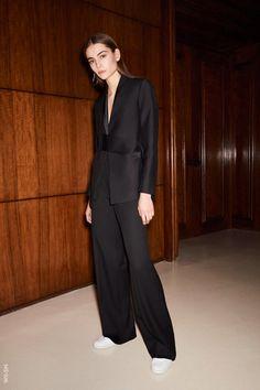 From WGSN Catwalks: Victoria Beckham - Pre-Fall 2017