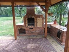 diy brick bbq grill outdoor fireplace with grill brick outdoor fireplace grill a. - diy brick bbq grill outdoor fireplace with grill brick outdoor fireplace grill and bricks how to bu - Outdoor Fireplace Brick, Backyard Fireplace, Brick Patios, Brick Fireplace, Outdoor Fireplaces, Outdoor Smoker, Pizza Oven Outdoor, Outdoor Grill Area, Outdoor Kitchen Patio