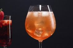 Here are two delicious cocktail recipes using our newest flavor of Cascade Ice sparkling water, Strawberry Orange Mango!