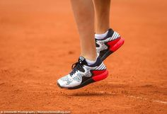Ana Ivanovic in Adidas Adizero Y-3 shoes at the 2016 French Open