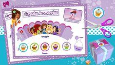 Download: LEGO Friends cupcake printables - Downloads - Activities - LEGO® Friends - LEGO.com - Friends LEGO.com