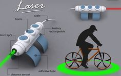 Eco Gadgets: Self-powered 'Laser' makes bicycling safe