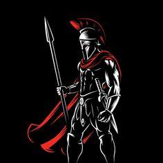 Spartan 300 Pillow Sham by art-berto Spartan 300, Spartan Logo, Spartan Tattoo, Spartan Warrior, Spartan Race, Greek Warrior, Fantasy Warrior, 300 Movie, Warriors Wallpaper