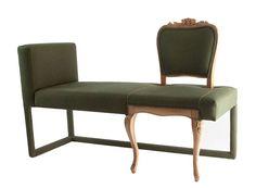 Upcycled furniture design by laBoratuvar