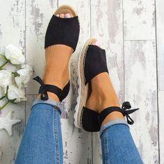 Shop Women's Shoes - Khaki Platform Lace-up Summer Sandal online. Discover unique designers fashion at JustFashionNow.com.