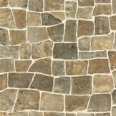 "Fabulous Raised 33' x 20.5"" Stone 3D Embossed Wallpaper"