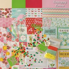 Scrappy Lovers: Novidade - Kit Primavera Forget Me Not, Kit, Daffodils, Daisy, Bloom, Lovers, Spring, Daisies, Bellis Perennis