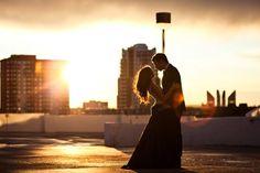 Themed Engagement Photo Shoot: James Bond