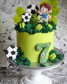 Cupcakes, Cake Cookies, Cupcake Cakes, Baby Birthday Cakes, Boy Birthday, Buttercream Cake, Fondant Cakes, Sport Cakes, Cookie Icing