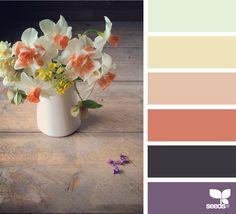 { spring tones } image via: @kunstkiekje More color inspiration http://www.wonenonline.nl/interieur-inrichten/kleuren-trends/