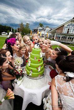 Hochzeitstorte www.brautparade.de