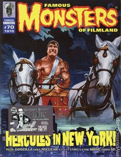 Famous Monsters of Filmland Magazine #70