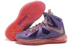 super popular a1b5b 77d63 Latest Listing Discount Laser Purple Strata Grey - Total Crimson Womens Nike  Lebron 10 All Star Shoes Store