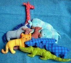 Juego de Zoo Softies poco patrón de costura por maggierama en Etsy
