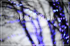 Heart Bokeh Textures by 2 Lil Owls Studio on Creative Market