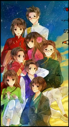 *Whispers.* Asians are AWESOME. #asia  #hetalia