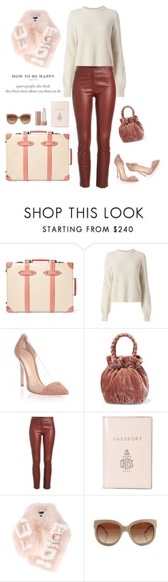 """""""Amsterdam Happy"""" by ms-wednesday-addams ❤ liked on Polyvore featuring Globe-Trotter, rag & bone, Gianvito Rossi, Staud, Theory, Mark Cross, Fendi, STELLA McCARTNEY and Marc Jacobs"""