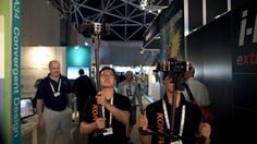 Newsshooter at IBC 2016: Konova handheld and airborne gimbal for 360 cameras