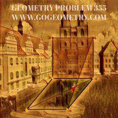 Sketch of Problem 354 Art of Geometry Problem 354: Rhombus, Square, 45 degrees, iPad apps