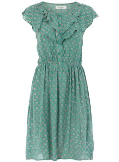 Ruffle vintage dress - Day Dresses - Dresses - Dorothy Perkins United States i adore this
