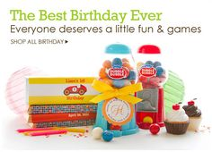Beau-coup | Shop Party Favors, Party Supplies, Decorations, Gifts. Such a cool idea  - great for a slew of parties.