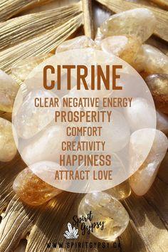 Crystal Guide, Crystal Magic, Crystal Healing Stones, Crystals And Gemstones, Stones And Crystals, Crystal Meanings, Citrine Crystal Meaning, Holistic Healing, Chakra Healing