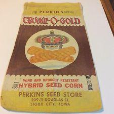 Perkins Crown O Gold Hybrid Sioux City, Iowa