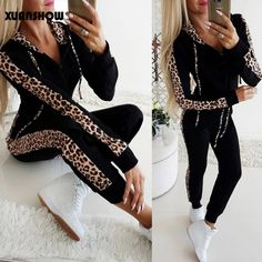 Men Womens T shirt Tee Top TrackSuit Zip Jogging Sport Sets Mid-Pants Jacket sz