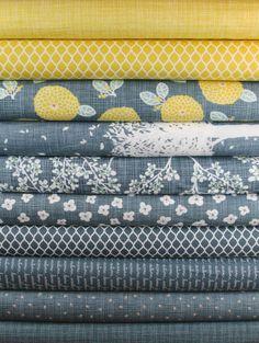 Beautiful fabric combo!